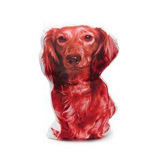 Dachshund pillow dachshund cushion longhaired dachshund