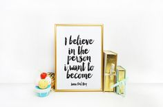 Inspirational print Home decor Typographic by BlueWavesPrints