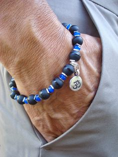 Men's Spiritual Healing Protection Fortune Bracelet di tocijewelry