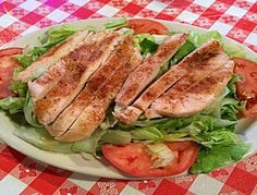 The chicken salad at Doe's Eat Place is one of a kind. Chicken Salad, Hamburger, Steak, Dining, Places, Food, Essen, Steaks, Burgers