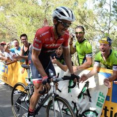 Alberto Contador La Vuelta 2017, stage 12. Again he attacked and showed us all what an incredible rider he is.
