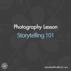 Sit back and watch this lesson on the role of storytelling in photography