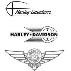 Logo Harley-Davidson olds vectorizado
