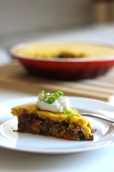 Black Bean Seitan Tamale Pie #vegan