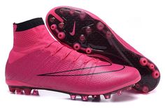 8edca75b 2015 Nike Mercurial Superfly AG ACC Soccer Boots Pink Black Nike Soccer  Shoes, Nike Cleats