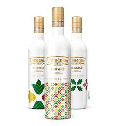 Lithuanian vodka packaging