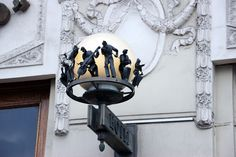 St. Petersburg. Street light