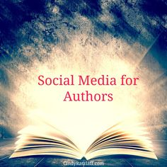 9 Social Media Profiles every author should create. Social Media for Authors Checklist.
