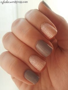 pink and grey nails Gray Nails, Pink Grey, Beauty, Style, Beleza, Cosmetology