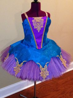 Children and Teens, Custom made dance Costume, Ice skating costume, Ballet costume. on Etsy, $450.00