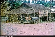Local kids sit in the jeep of the MP's who are directing traffic for a passing convoy. Along the road between Dong Tam and the city of My Tho in Dinh Tuong Province, Vietnam IV Corps, in 1968 Vietnam Protests, Vietnam Veterans, Vietnam History, Vietnam War Photos, Saigon Vietnam, South Vietnam, Military Police Army, Brown Water Navy, My Tho