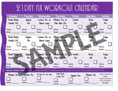 21 Day Fix Extreme Printable 1200-1499 5 Page PDF BUNDLE PACK: Day ...