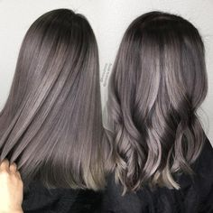Straight or curly? Used and OLAPLEX all the way. Color correc… - All For Hair Color Balayage Brown Hair Balayage, Brown Blonde Hair, Hair Color Balayage, Brunette Hair, Hair Highlights, Blonde Honey, Honey Balayage, Brunette Color, Color Highlights