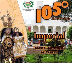 Aniversario del distrito Imperial en Lima