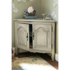 Sophia Corner Cabinet from Soft Surroundings on shop.CatalogSpree.com, your personal digital mall.