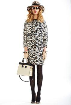 All in Leopard:Retro Leopard Print