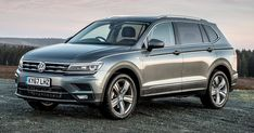 Longer VW Tiguan Allspace 7-Seater Arrives In UK Starting At £29,370 #New_Cars #Prices
