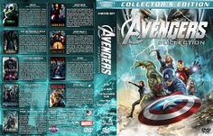 Mega Covers Gtba: The Avengers Collection (9) (2003-2013) R1 - Cover...