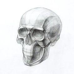 Рисунок черепа. #рисунок #череп #творчество #художник #рисуноккарандашем #арт #рисую #drawing #draw #своимируками #искусство #art #arte #instaart #instamoment #artist #pencil #skull