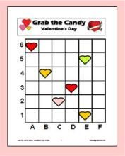 Using Candy Hearts to practice graphing skills.  Offered for free at Mathwire.com.