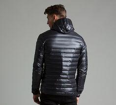 Varilite Hooded Down Jacket Puffer Jackets, Winter Jackets, Mens Down Jacket, Man Quilt, Black Down, Cute Guys, Latex, Hoods, Man Shop