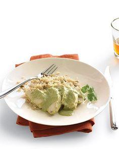 Chicken with Pumpkin-Seed Mole, Recipe from Martha Stewart Living, October 2008