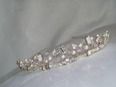 Handmade bridesmaids wedding bridal tiara by HelenCurtisTiaras, £58.00