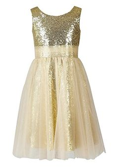 Wallbridal Sequin Tulle Flower Girl Dress Toddler Dress Junior Bridesmaid Girl Formal Dress (2, Gold) Wallbridal http://www.amazon.com/dp/B017794SDG/ref=cm_sw_r_pi_dp_1h7xwb1DB13BJ