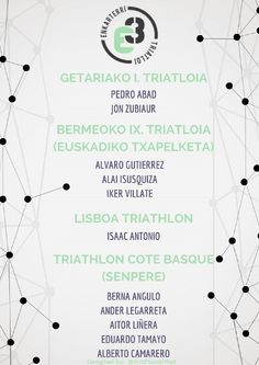 Convocatoria fin de semana 1 al 3 de mayo de Enkarterri Triatloi