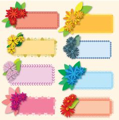 Holiday Gift set-- Lovely Flower Greetings by on DeviantArt Boarder Designs, Frame Border Design, Page Borders Design, Flower Background Wallpaper, Flower Backgrounds, Tectonique Des Plaques, Birthday Charts, Diy And Crafts, Paper Crafts