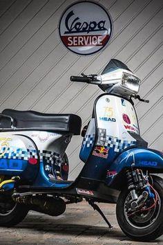 Vespa Motorcycle, Vespa Bike, Vespa Scooters, Vespa T5, Vespa Lambretta, Vespa Excel, Scooter Garage, Mk1, Tricycle