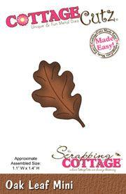 CottageCutz Oak Leaf Mini