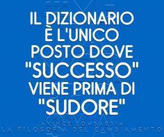#Metamorphosya #VinceLombardi #successo #sudore #lafilosofiadelcambiamento