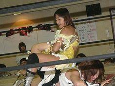 Japanese Womens Wrestling: Sachie Abe -Japanese Womens Wrestling