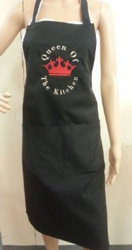 Queen of the kitchen, and then some! Novelty Aprons, Queen, Lady, Kitchen, Pink, Fashion, Moda, Cuisine, Fashion Styles