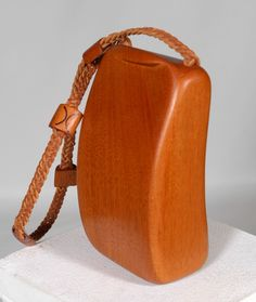 Kimberly Chalos - Signature Series - Hand Carved Handbags