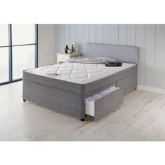 Forty Winks Truro Zoned Kingsize 2 Drw Divan Bed. at Homebase -- Be inspired and make your house a home. Buy now.