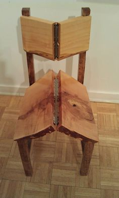 "Folding ""Rathskeller"" chair - Site has a lot of other ingenious projects as well."