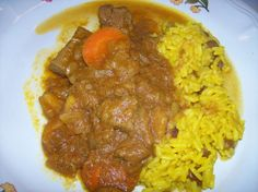 Bo-Kaap Cape Malay Kerrie - South African Cape Malay Curry Recipe - Food.com South African Recipes, Indian Food Recipes, Africa Recipes, Quiche, Malay Food, Rice Side Dishes, Sauces, Recipe Sheets, Salsa