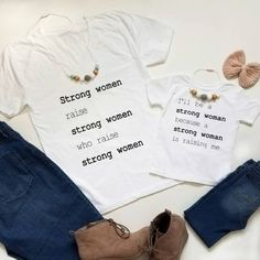 Mommy and Me shirts - mommy and me outfits - matching mother daughter shirts - Mothers Day - mom shirt - mom daughter tees - girl mom shirt Mom Daughter Matching Outfits, Mother Daughter Shirts, Mother Daughter Fashion, Mommy And Me Outfits, Mothers Day Shirts, Mom And Me Shirts, Blessed Shirt, Matching Shirts, My Outfit
