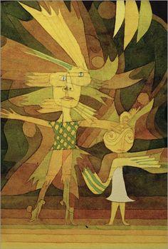 Paul Klee . Genien