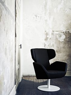 Black cosy chair