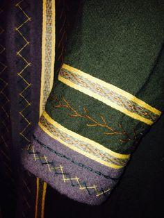 Sleeve detail - gorgeous