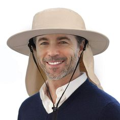 Solaris Outdoor Fishing Hat Ear Neck Flap Cover Wide Brim Sun Protection...   fashion  clothing  shoes  accessories  mensaccessories  hats (ebay link) 3e2940164323