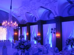 Winter wonderland - including laying of complete white flooring in the Mount Nelson Garden room - SMD Technical Nelson Garden, White Flooring, Wedding Lighting, Winter Wonderland, Wedding Events, Chandelier, Ceiling Lights, Room, Candelabra
