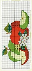 Thrilling Designing Your Own Cross Stitch Embroidery Patterns Ideas. Exhilarating Designing Your Own Cross Stitch Embroidery Patterns Ideas. Cross Stitch Fruit, Cross Stitch Kitchen, Cross Stitch Flowers, Cross Stitch Charts, Cross Stitch Designs, Cross Stitch Patterns, Loom Patterns, Cross Stitching, Cross Stitch Embroidery