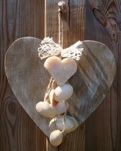 Heart and shells