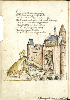 Literary, MS M.763 fol. 15v - Images from Medieval and Renaissance Manuscripts - The Morgan Library & Museum