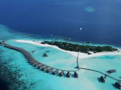 Forget about the rest of the world, and dive into the crystal waters; Cocoa Island, a private island resort in Maldives guarantees relaxation