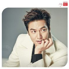 Lee Min Ho, Lotte Duty Free cr Lotte instagram
